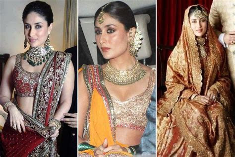 5 Kareena Kapoor Wedding Dress Ideas We Can Steal Looks From
