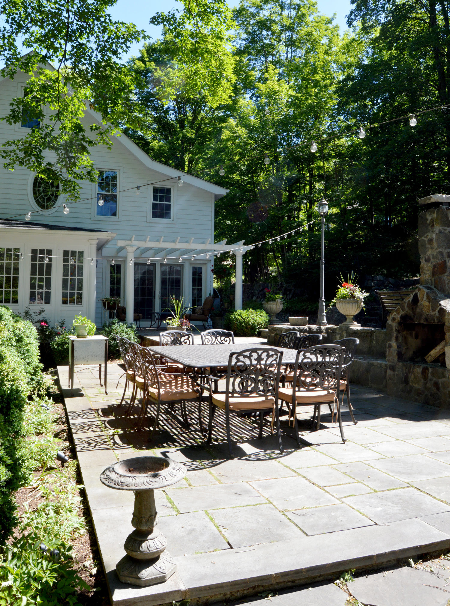 26 Landscaping Ideas for a Wonderful Backyard Retreat in Somers, NY