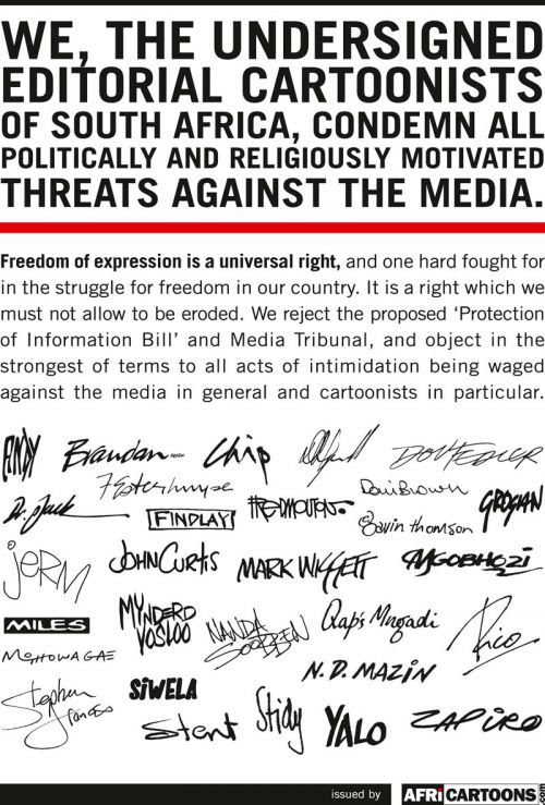 Cartoonists' Declaration