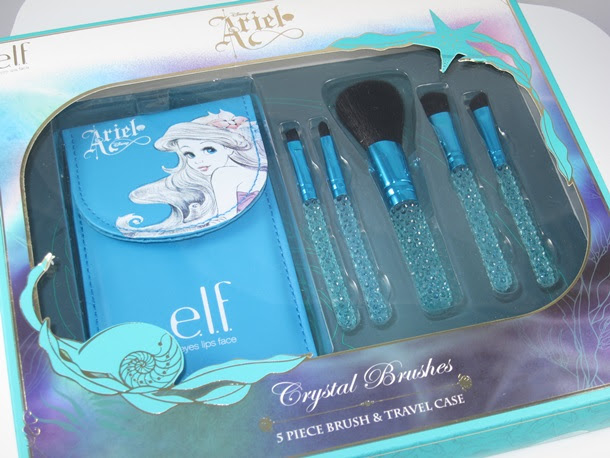 ELF da Disney Ariel Cristal Escova Gift Set