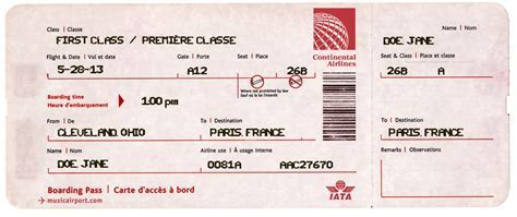 Pin by Eric Lougee on Español   Airline tickets, Ticket