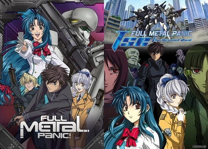 Full Metal Panic regressa em 2017 com Novo Projeto Anime