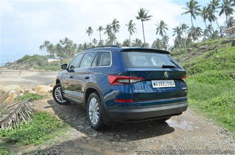 skoda kodiaq style receives  price cut  inr  lakh