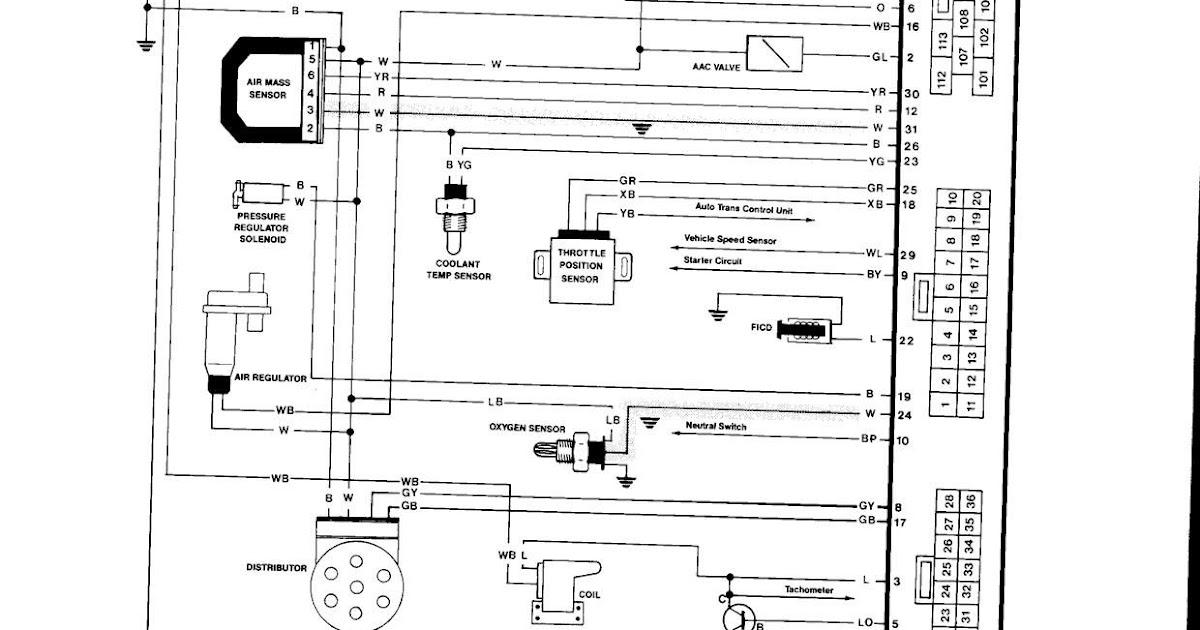 Nissan An Wiring Diagram
