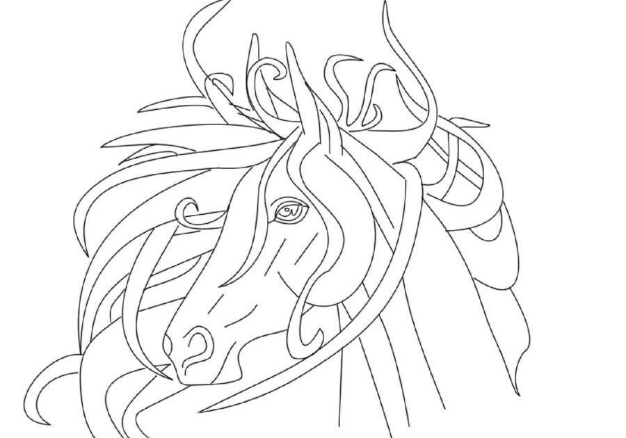 17 elegant ausmalbilder pferde reiten