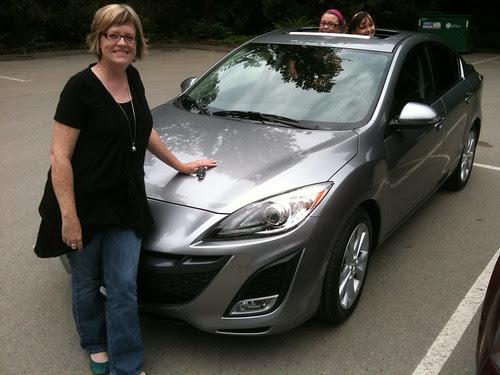 Air's new Mazda3!