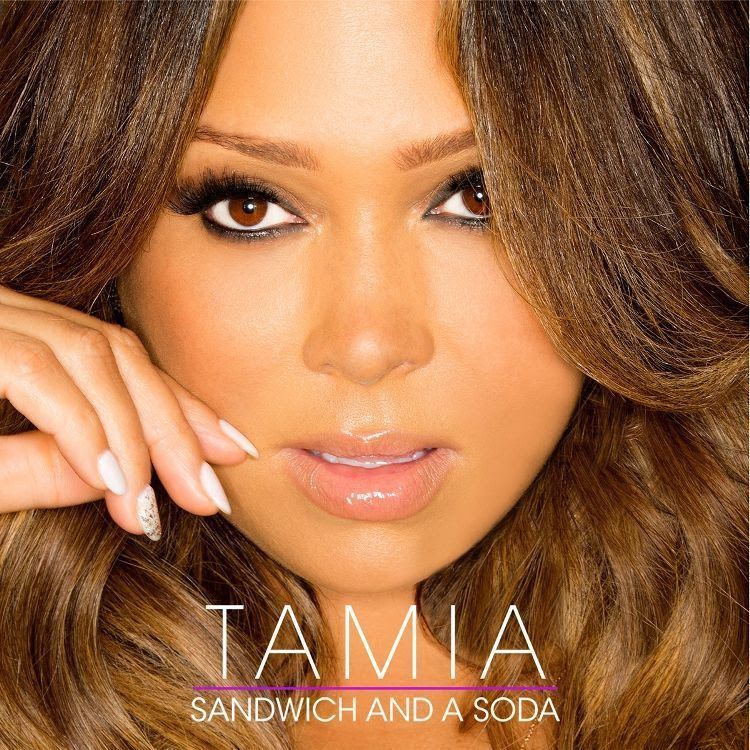 Tamia : Sandwich & A Soda (Single Cover) photo tamia-sandwich-and-a-soda-the-industry-cosign-def-jam.jpg