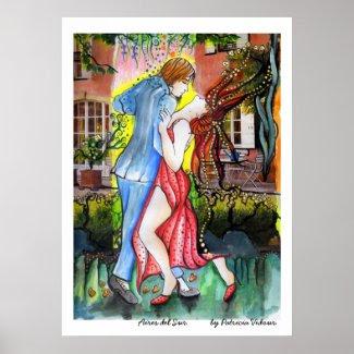 Aires del Sur Tango print