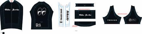 Bike Jerks Jersey White