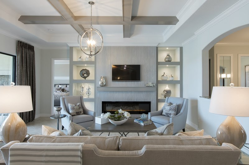 Now Open Br The Princeton At Bonita National Br By Lennar Homes Model Home Interiors Robb Stucky