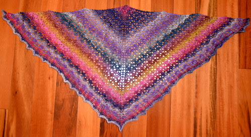 Little Arrowhead Shawl