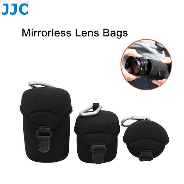 Goede Kopen JJC Zachte Mirrorless Camera Lens Tas Voor Olympus Fujifilm Pentax Leica Sony Canon Nikon Lenzen Neopreen Pouch Protector Cover Goedkoop