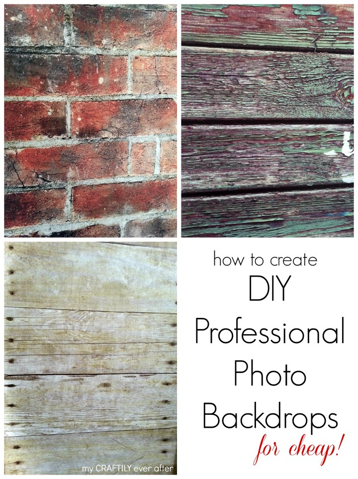 How to Create Professional Photo Backdrops My Craftily