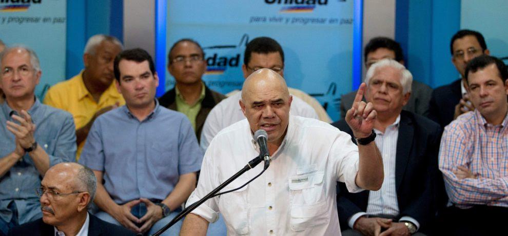 Jesús Torrealba, Secretario General de la MUD