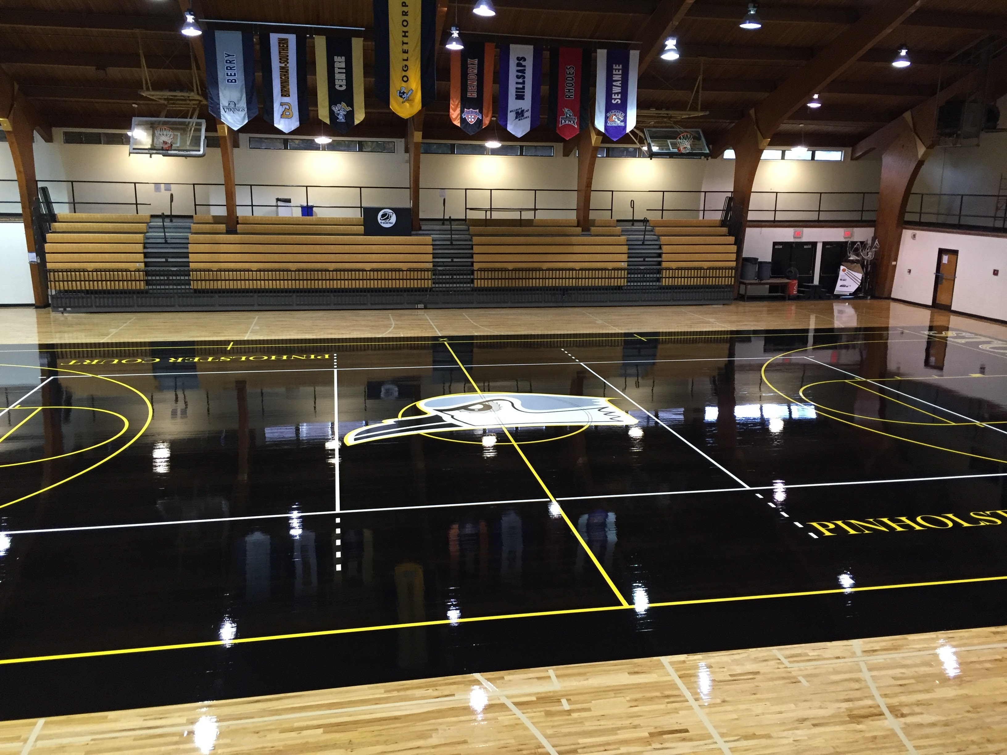 Oglethorpe Athletics Introduces Blacktop Court In Dorough Field