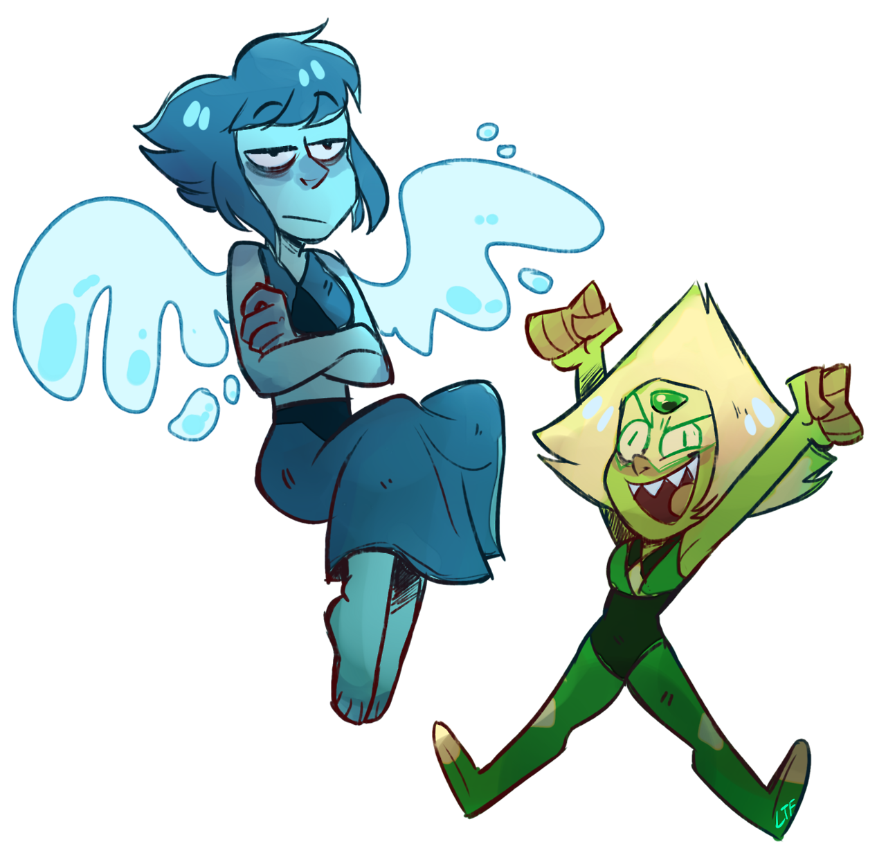 doodled my fav gems.