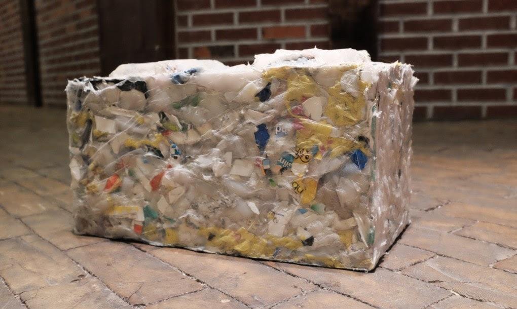 REPLAST o tijolo ecológico feito de plásticos retirados dosoceanos stylo urbano