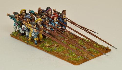 Landsknecht Regiment Attacking