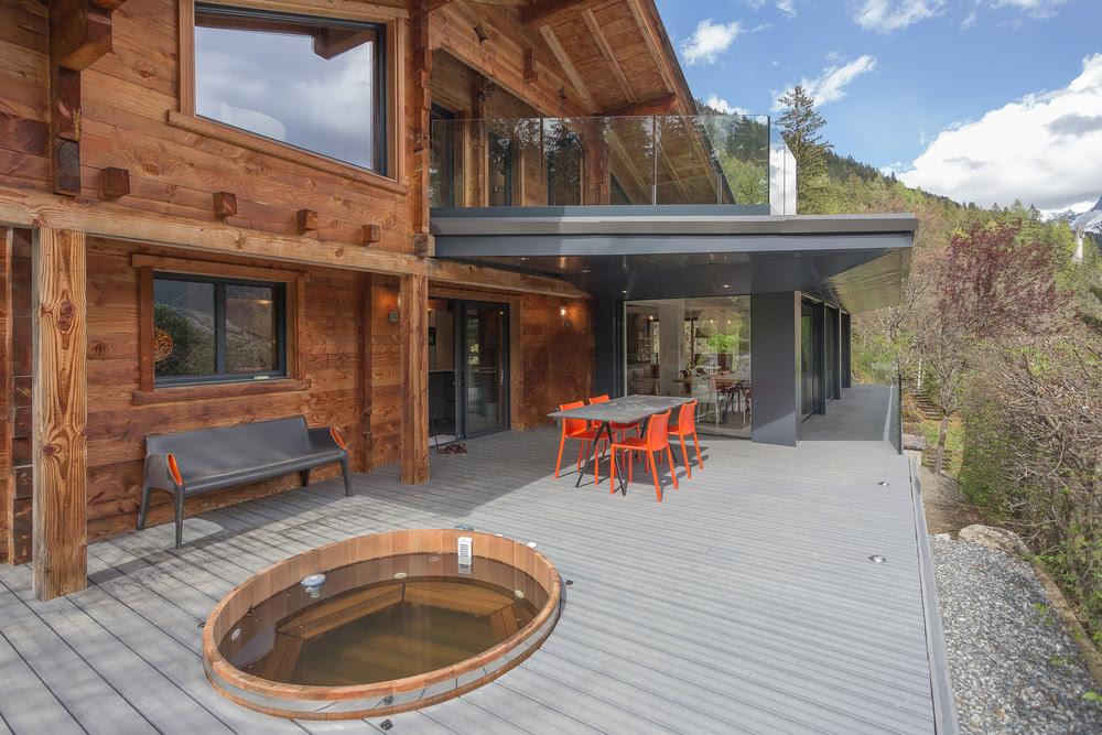 chevallier architectes chalet soleya coupeau les houches france designboom
