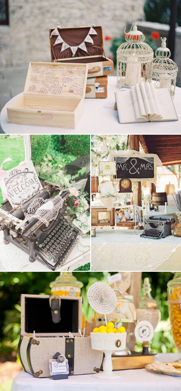 35 Creatively Beautiful Guestbook And Sign In Table Décor Ideas