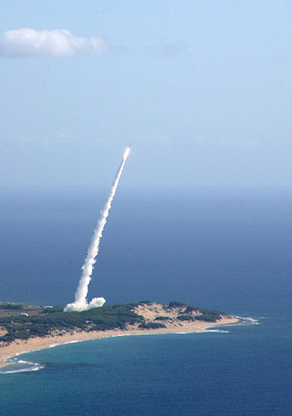 File:Missile launch from Pacific Missile Range.jpg