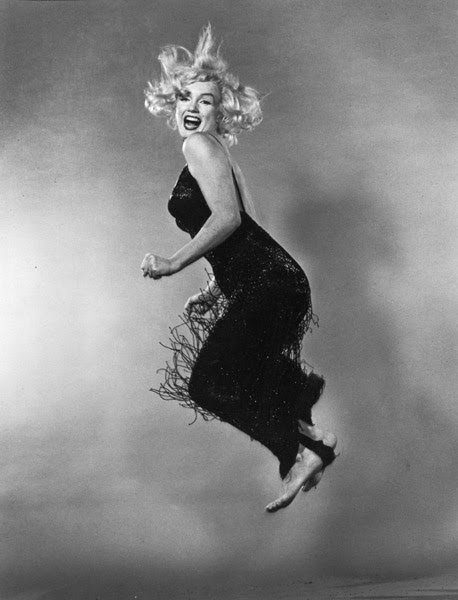 halsman MMonroe1 Les sauts de Philippe Halsman  photo photographie featured art