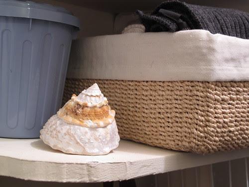 Shelf in Linen Closet