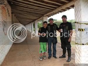 foto integrantes do Moto Clube de Itaí,SP