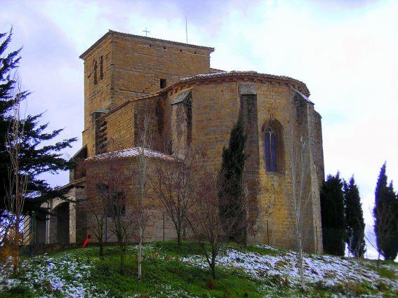 Figura 29. Iglesia de San Miguel de Noáin.
