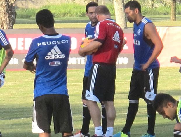 Chicão Treino Flamengo  (Foto: Thales soares)