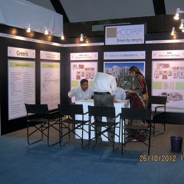 G:Corp Greens Wakad (www.greenspune.com) - Exhibition of Properties in Hinjewadi, Wakad, Baner, Balewadi & Bavdhan! - PROFEST WEST 2012 by CREDAI Pune Metro on 26 - 27 -28 October 2012 at VITS Hotel, Balewadi, Pune