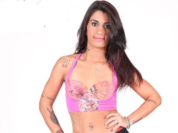 Laryssa foi presa em São Vicente por tráfico de drogas (Foto: Divulgação)