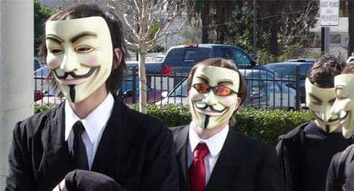 Anonymous tira do ar site do banco Bradesco