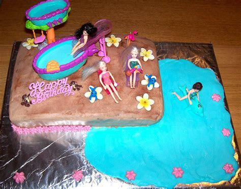 Pool Party Cakes ? Decoration Ideas   Little Birthday Cakes