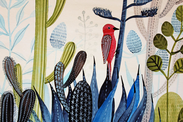 The Blue Agave detail
