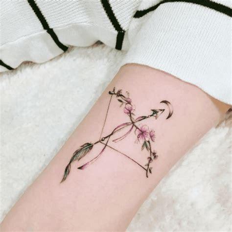 arrow constellation tattoo ideas  sagittarius