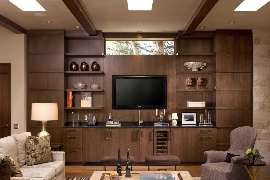 Brown Wall Unit And Lcd Cabinet Design Ipc219 Lcd Tv Cabinet