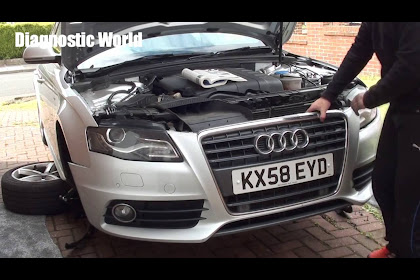 2008 Audi A4 Front Bumper Removal