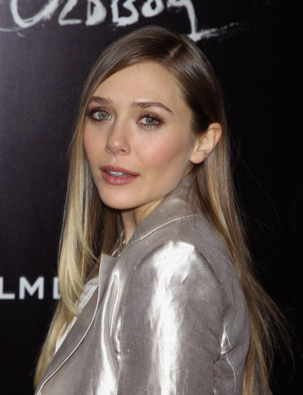 Elizabeth Olsen Red Carpet Photos - OLDBOY Movie Screening ...