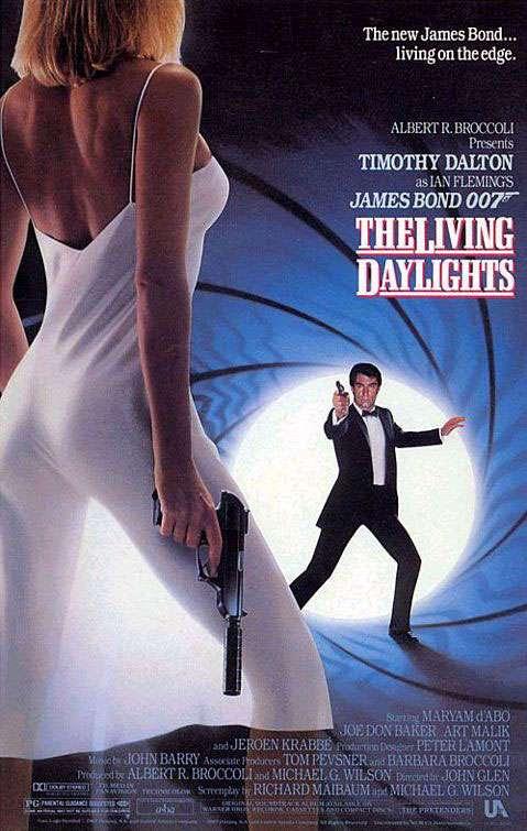James Bond 007 The Living Daylights Poster