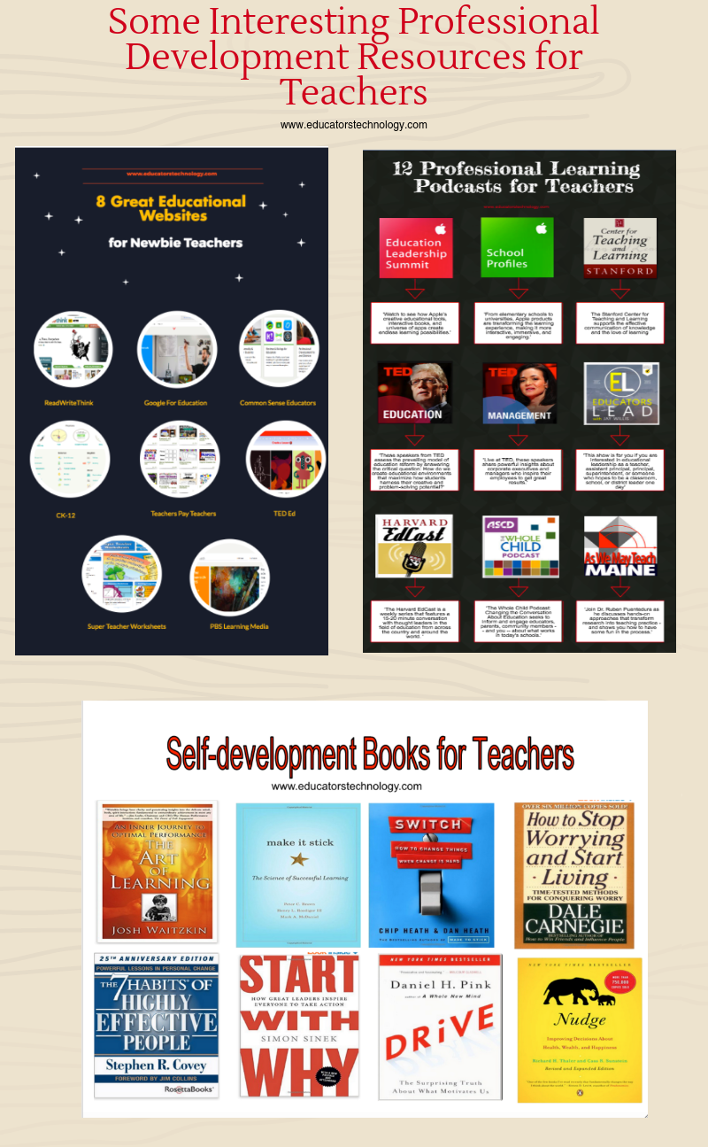 PD resources for teachers