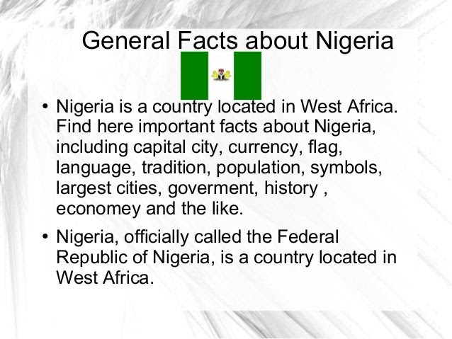 Image result for nigeria facts and pictures