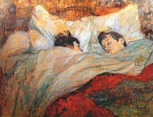 """""""A Cama"""" - Toulouse-Lautrec"""