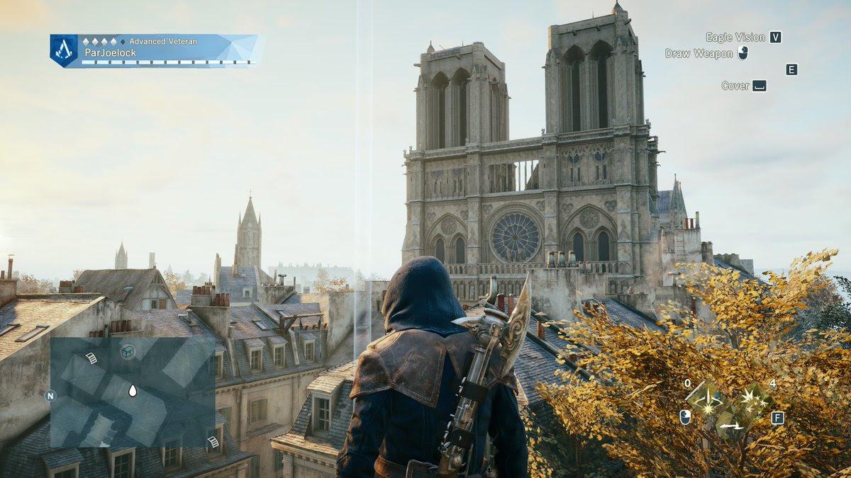 Resultado de imagem para Assassin's Creed Unity pode ajudar a restaurar Catedral de Notre Dame, diz site