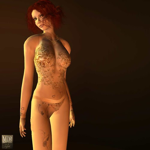 Artemis lingerie seemed a perfect choice for Lydia, the Tattooed Lady.