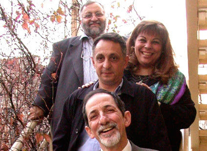 Karen Sarhon and members of her Ladino song group Los Pasharos Sefaradis in Istanbul in 2012. (Courtesy of Los Pasharos Sefaradis)
