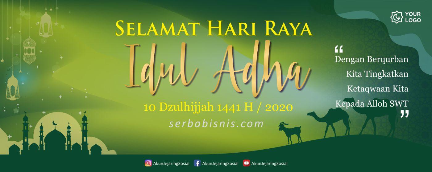 Desain Banner Spanduk Idul Adha – SerbaBisnis