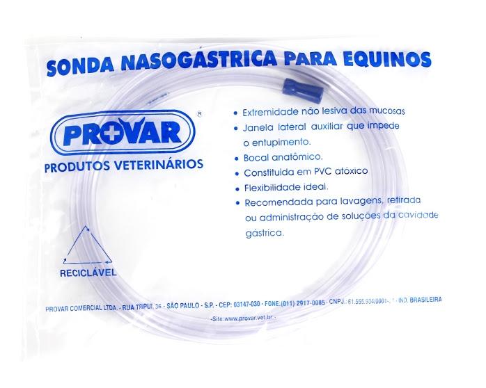 Sonda Nasogástrica Para Equinos 17mm Farmácia Do Cavalo
