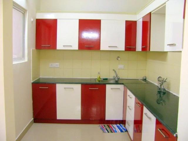 Tempat Wisata: Modular Kitchen Design Red And White ...