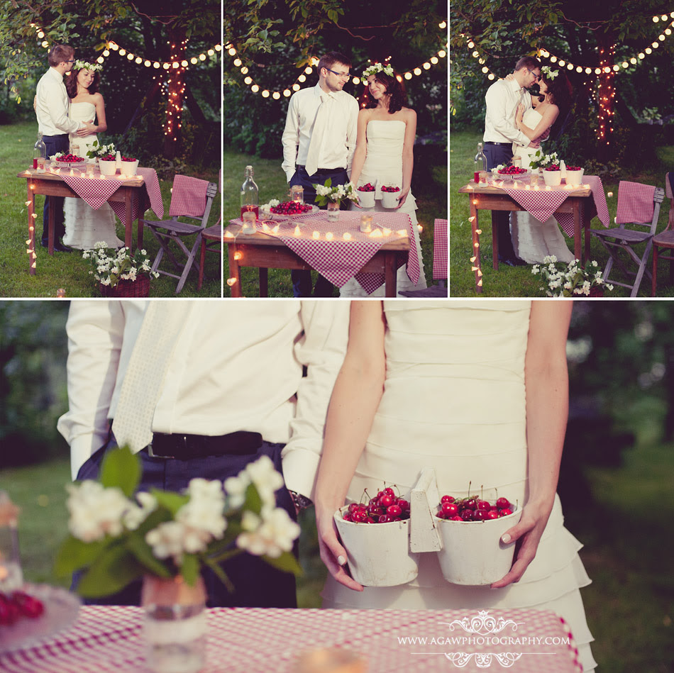 letnia sesja ślubna